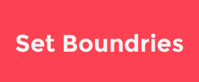 boundries